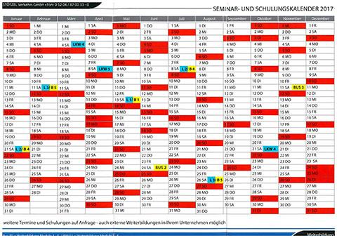 BKF Kalender 2017